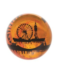 Caithness Glass Landmarks - Blackpool Paperweight