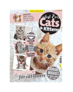 Cutest Ever Cats and Kittens Bookazine