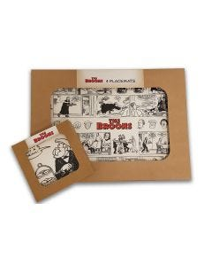 The Broons Placemat & Coaster Set