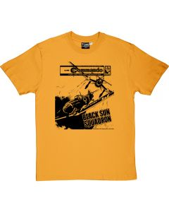 Commando Black Sun Squadron T-Shirt