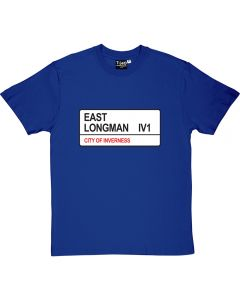 East Longman St Sign T-Shirt
