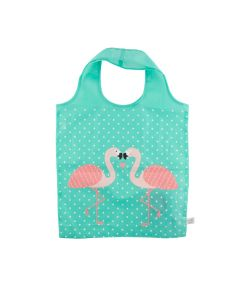 Tropical Flamingo Foldable Shopping Bag