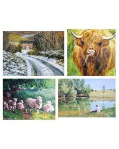 Gill Erskine-Hill Seasons Jigsaw Collection