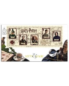 Harry Potter Myth & Magic Stamps - Hogwarts Professors