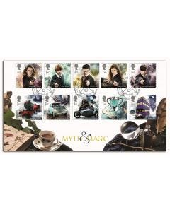 Harry Potter Myth & Magic Stamps - Main Characters