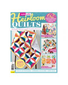Heirloom Quilts Bookazine