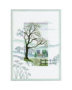 Winter Tree Counted Cross-Stitch Kit