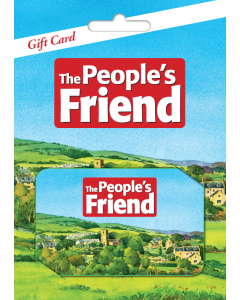 The People's Friend Subscription Gift Card