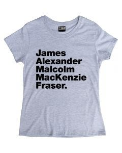 Outlander Jamie Fraser Ladies T-shirt