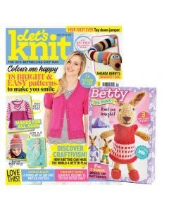 Let's Knit February Issue