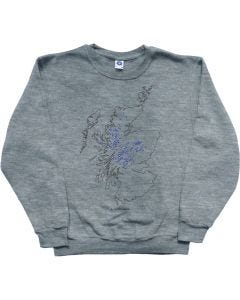 Munros Map Sweatshirt