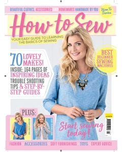 How To Sew Bookazine