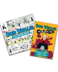 Oor Wullie Bucket List & Colouring Book Pack