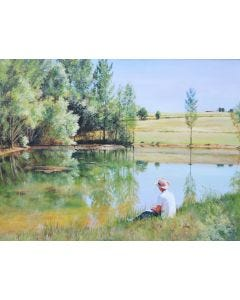 Paddy by the Lake Jigsaw