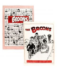 The Broons Portraits and Tandem Tea Towel Pack