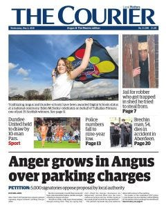 The Courier Subscription - Fife Edition