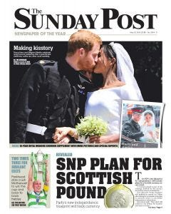 The Sunday Post Subscription - Dundee Edition