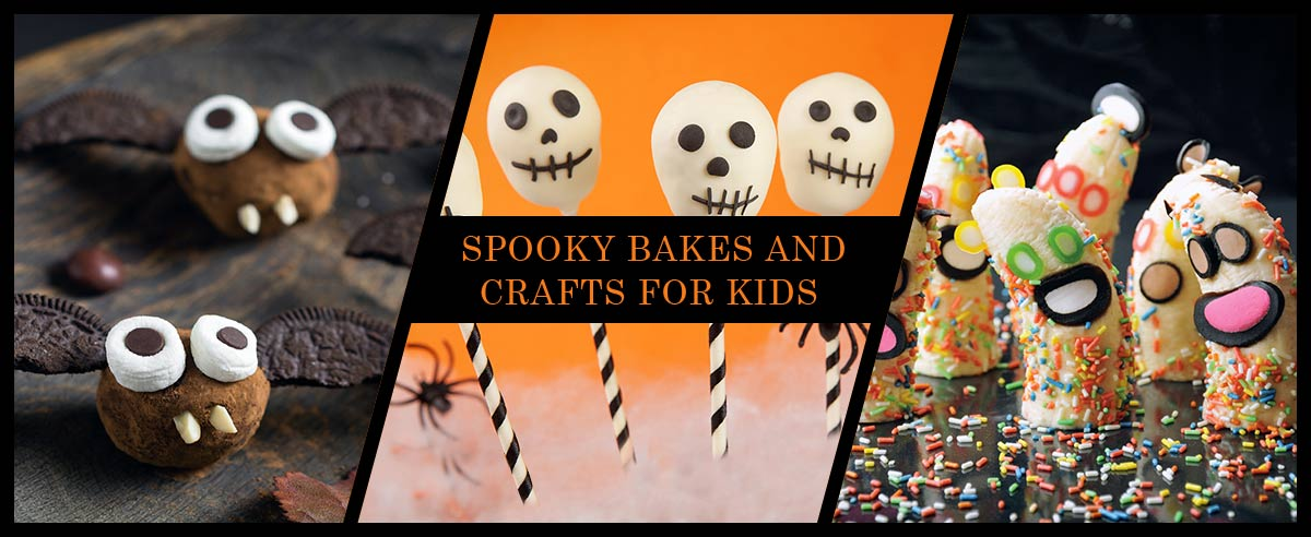 Spooky bakes and crafts for kids blog
